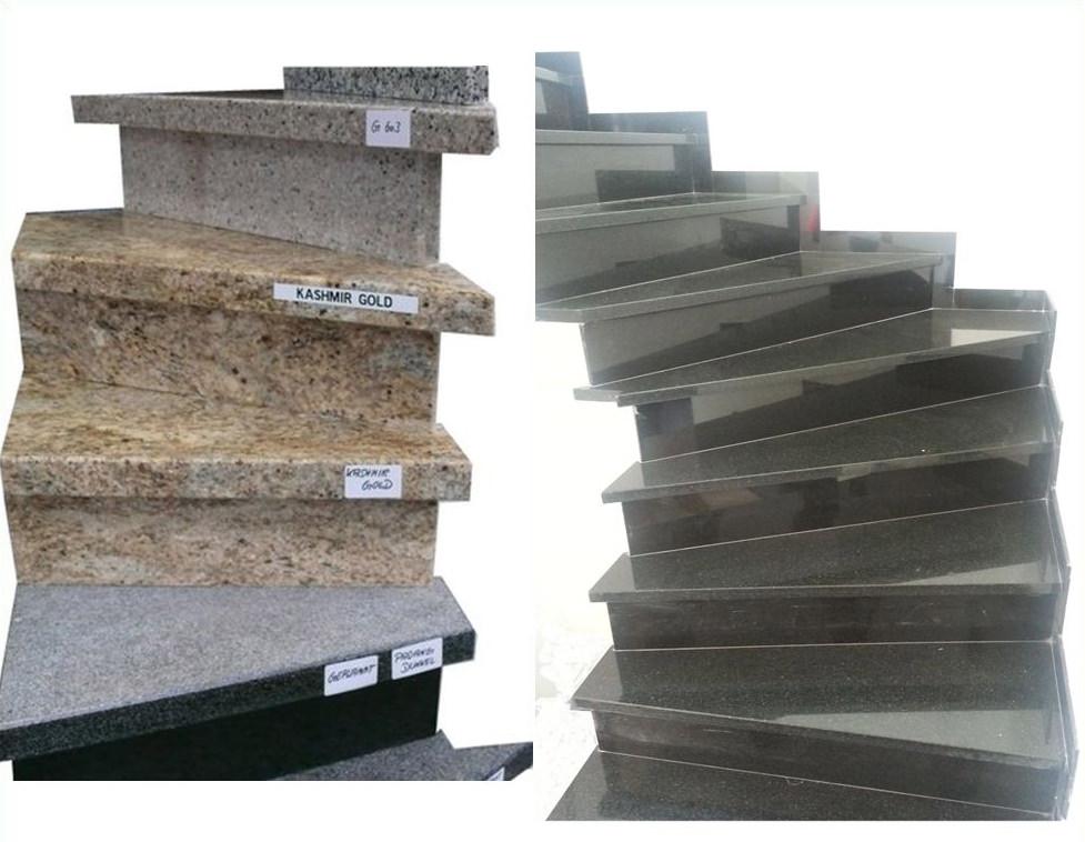 Treppenstufen aus Granit